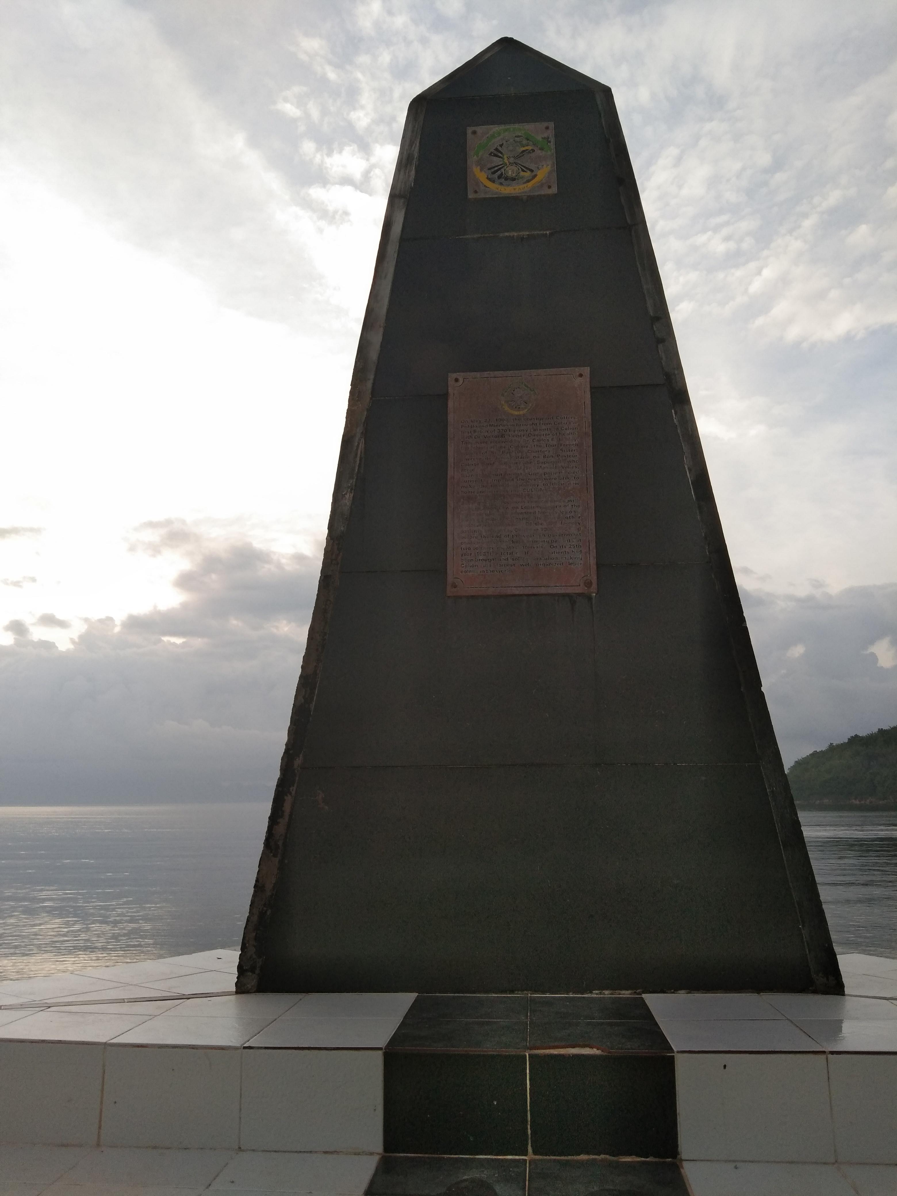 obelisk Culion Palawan