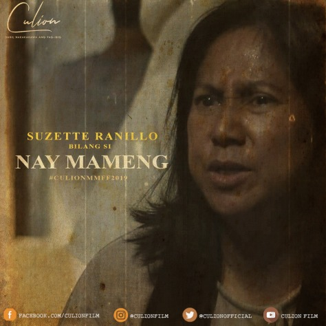 Culion MMFF 2019 Suzette Ranillo as Nay Mameng