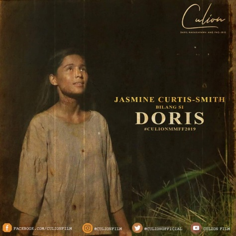 Culion MMFF 2019 Jasmine Curtis Smith as Doris