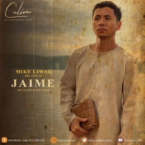 Culion MMFF 2019 Mike Liwag as Jaime